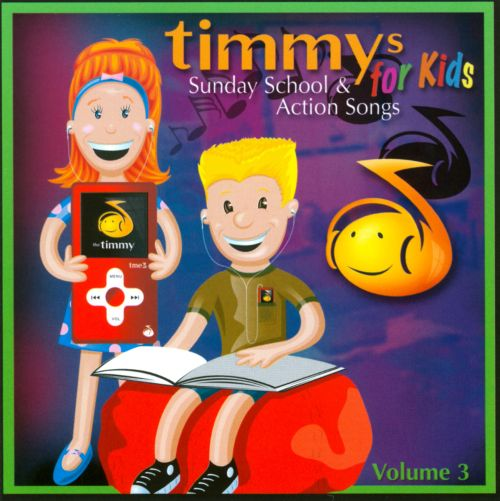 Sunday School & Action Songs, Vol. 3