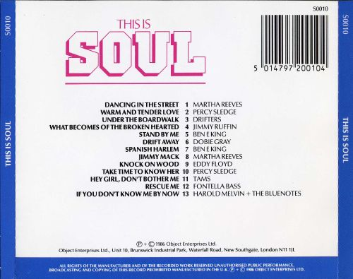 This Is Soul [Object]