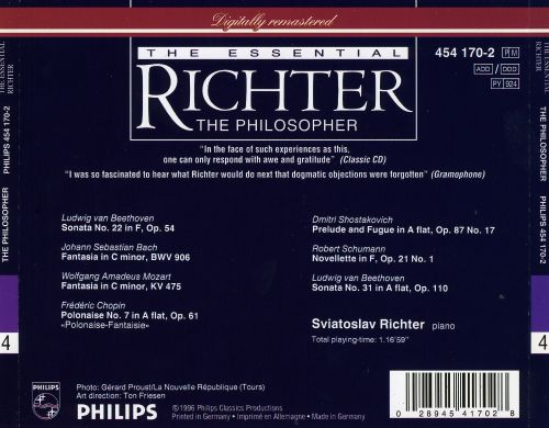 The Essential Richter: The Philosopher