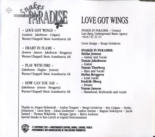 Love Got Wings