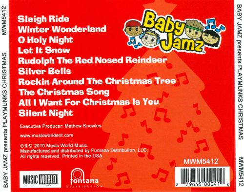 Baby Jamz Presents Playmunks Christmas