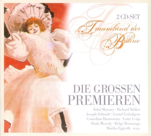 The Great Premiere: Operetta Brought Onstage