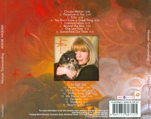 Woman Transcending: Rare Recordings From Annie Haslam's Musical Journey