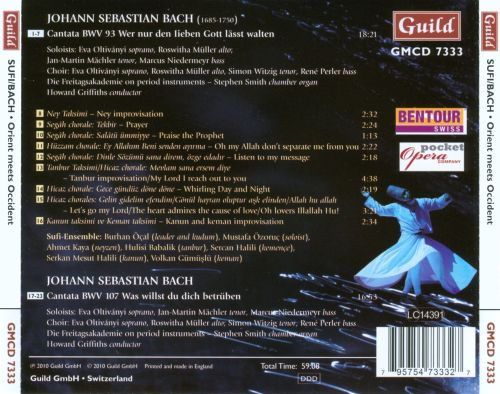 Sufi/Bach: Orient Meets Occident