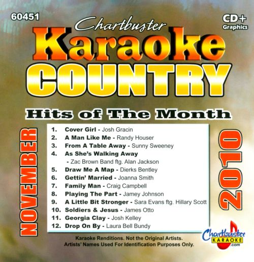 Chartbuster Karaoke: Country Hits Of The Month - November 2010