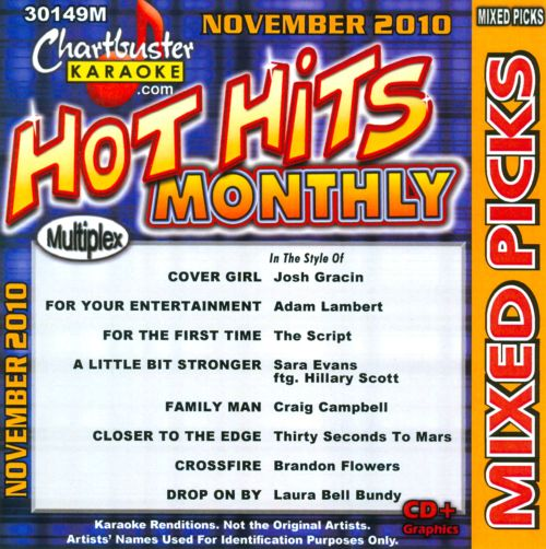 Karaoke: Country and Pop Mixed Picks - November 2010