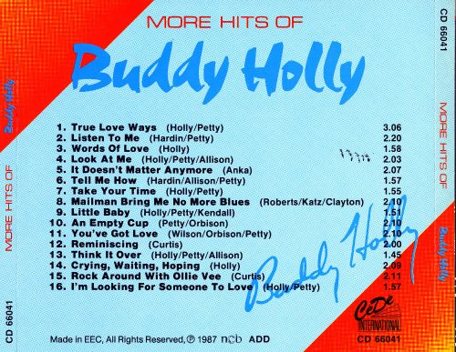 More Hits of Buddy Holly