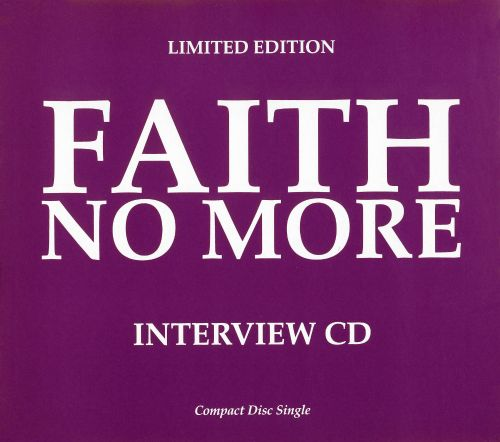 Limited Edition Faith No More Interview CD