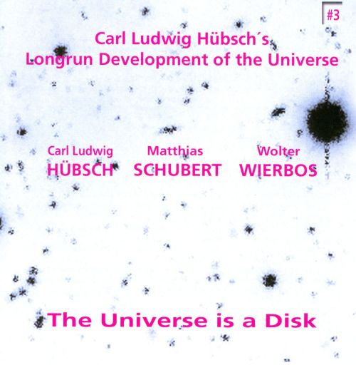 The Universe Is a Disk