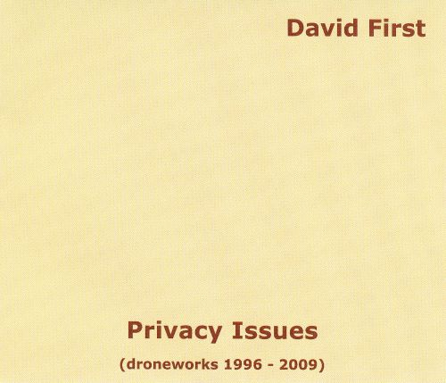 Privacy Issues: Droneworks 1996-2009