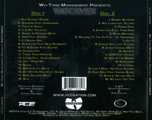 Wu-Tang Management Presents: Watchmen