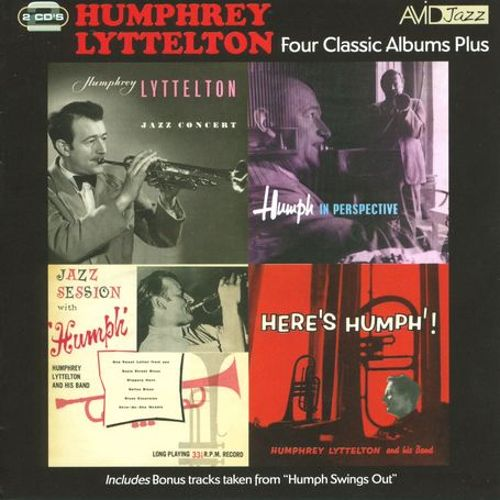 Four Classic Albums: Jazz Concert/Jazz Session/In Perspective/Here's Humphrey