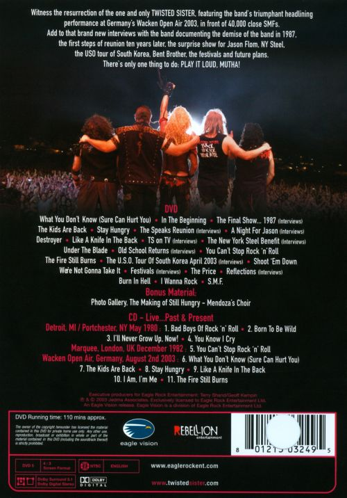 Live at Wacken: The Reunion