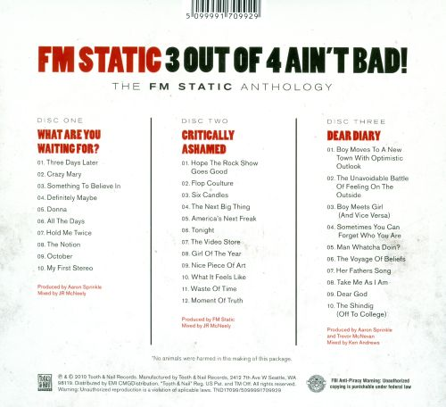 3 Out of 4 Ain't Bad!: The FM Static Anthology