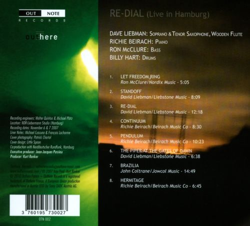 Re-Dial: Live in Hamburg
