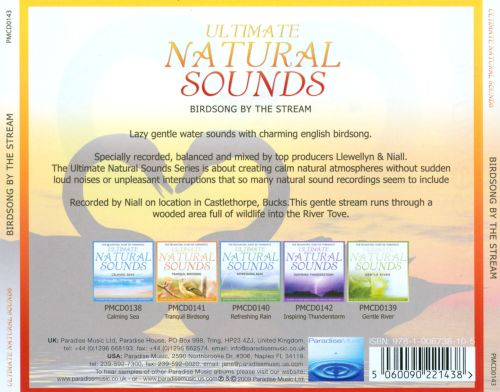 Ultimate Natural Sounds: Birdsong by the Stream