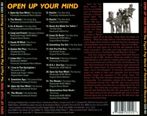 Open Up Your Mind: The Psych Pop World of Rembrandt Records (1966-1967)