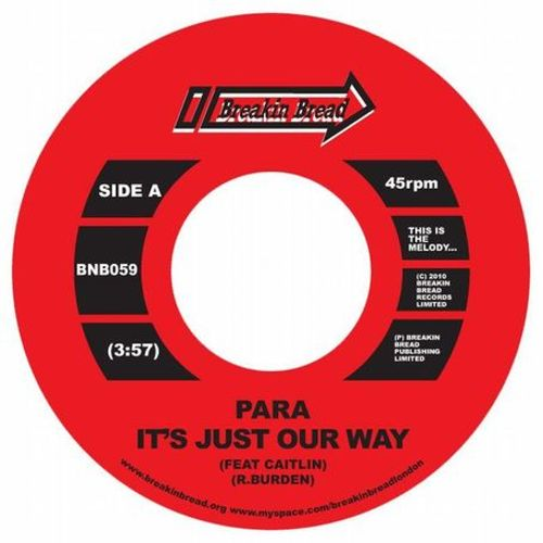 It's Just Our Way/Paradee