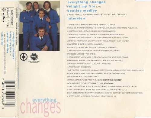 Everything Changes [Single]