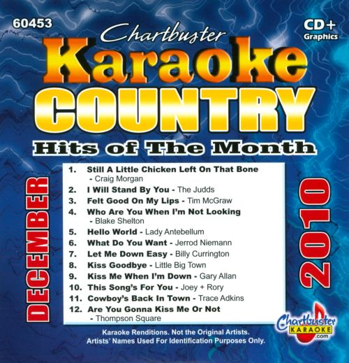 Karaoke: Country Hits of the Month - December 2010