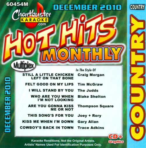 Chartbuster Karaoke: Hot Hits Country: December 2010