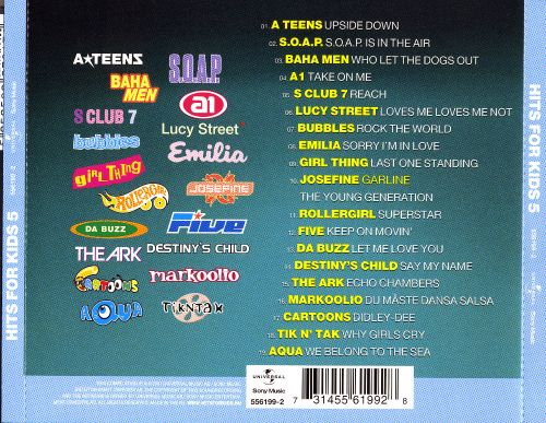 Hits for Kids, Vol. 5