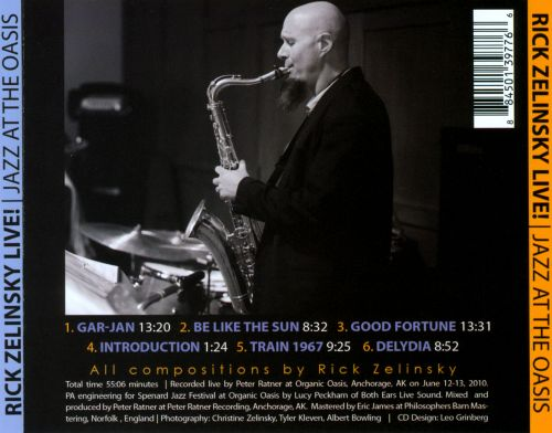 Jazz at the Oasis: Live