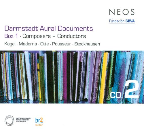 Darmstadt Aural Documents, Box 1: Composers - Conductors, CD 2