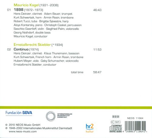Darmstadt Aural Documents, Box 1: Composers - Conductors, CD 4