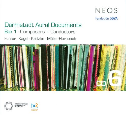 Darmstadt Aural Documents, Box 1: Composers - Conductors, CD 6