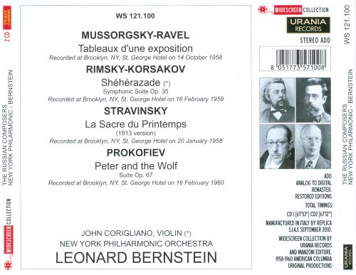The Russian Composers
