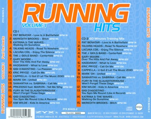 Running Hits, Vol. 1: Feel The Beats