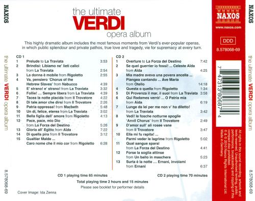 The Ultimate Verdi Opera Album