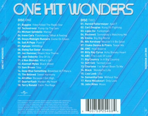 One Hit Wonders [Universal]