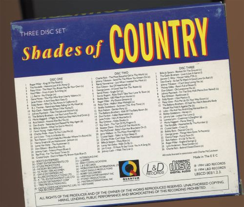 Shades of Country [L&D Box]