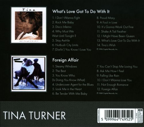 What's Love Got To Do with It/Foreign Affair