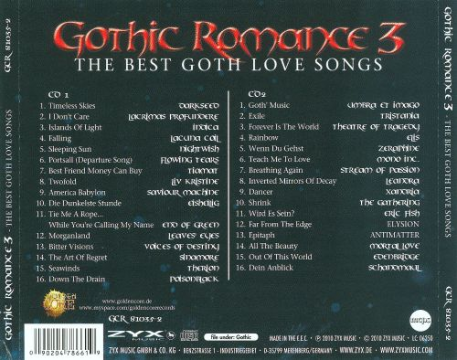 Gothic Romance, Vol. 3: The Best of Goth Love Songs