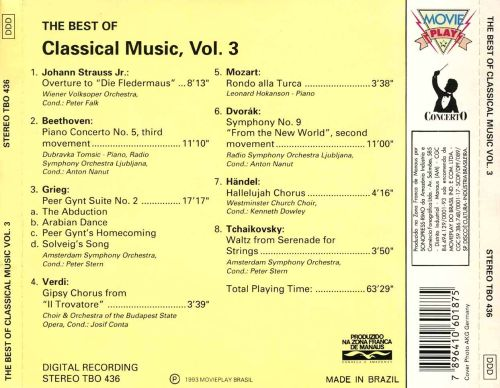 The  Best of Classical Music, Vol. 3