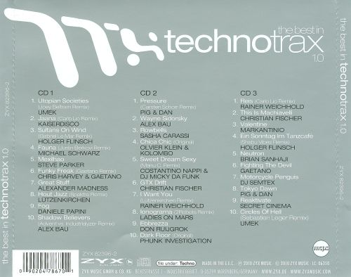 The  Best In Technotrax 1.0