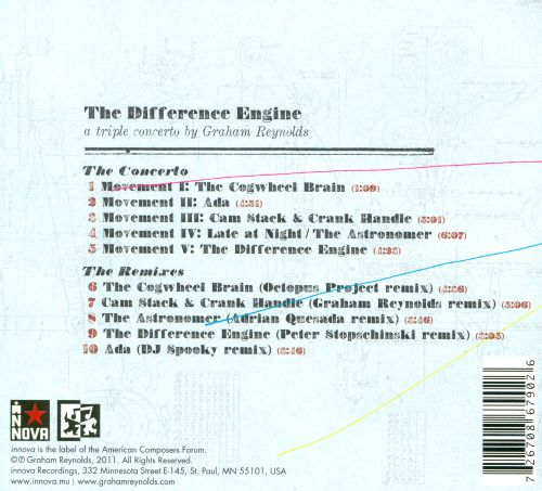The Difference Engine: A Triple Concerto