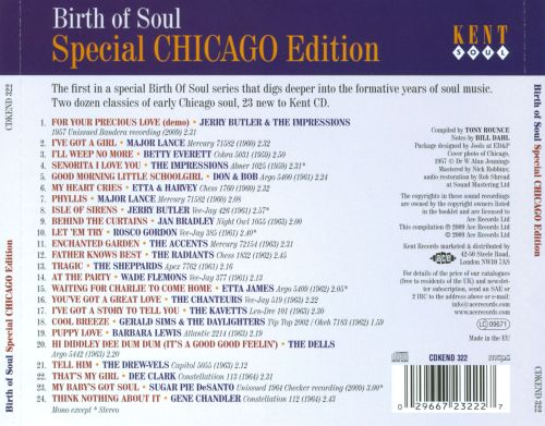 Birth of Soul: Special Chicago Edition