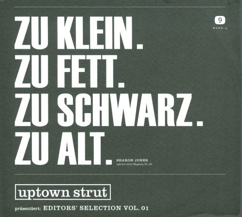 Uptown Strut Presents: Editor's Selection, Vol. 1