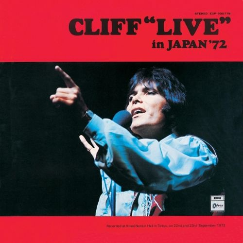 Cliff Live in Japan 72
