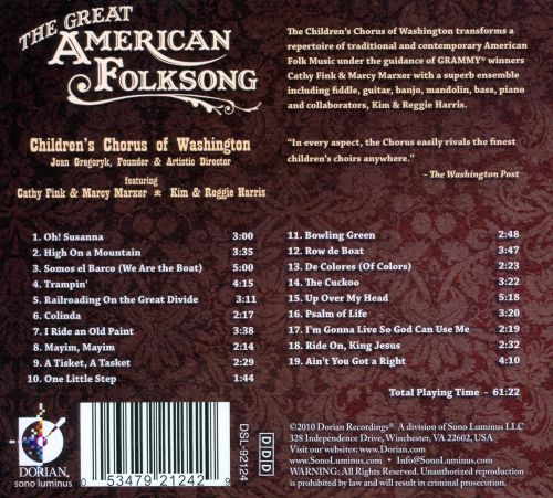 The Great American Folksong