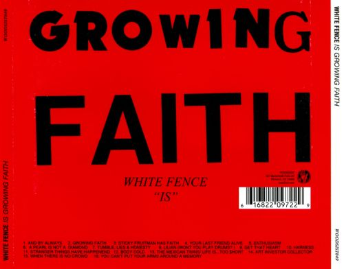 White Fence Is Growing Faith