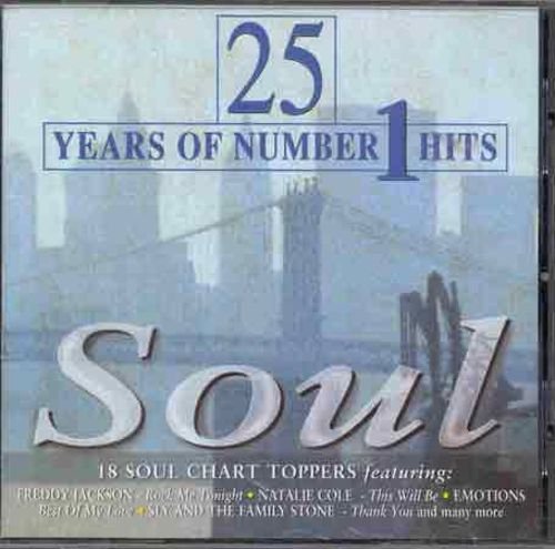 25 Years of Number 1 Hits: Soul