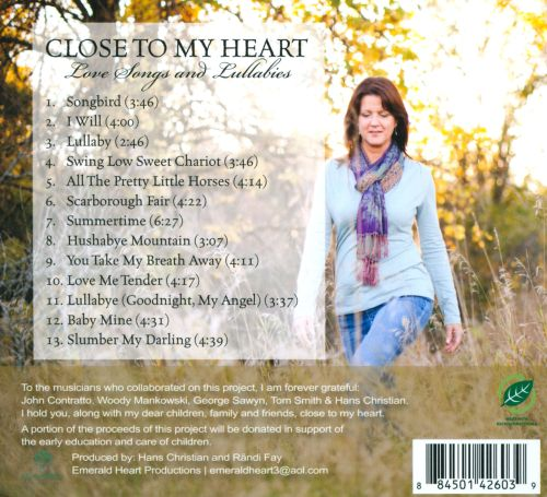 Close To My Heart: Love Songs And Lullabies