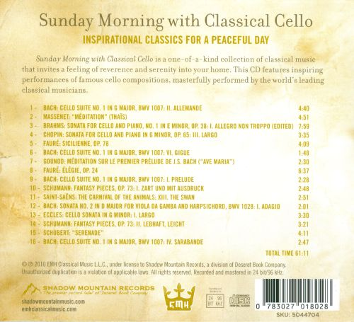 Sunday Morning with Classical Cello