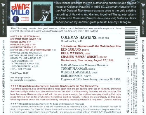 Swingville/At Ease With Coleman Hawkins