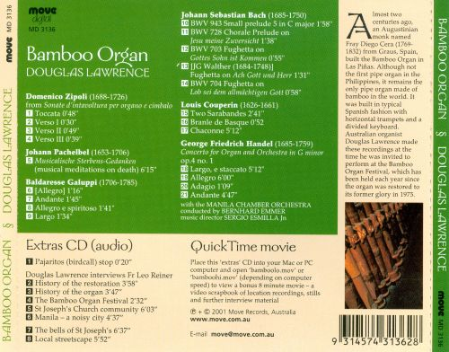 The Bamboo Organ [Includes Multimedia Disc]